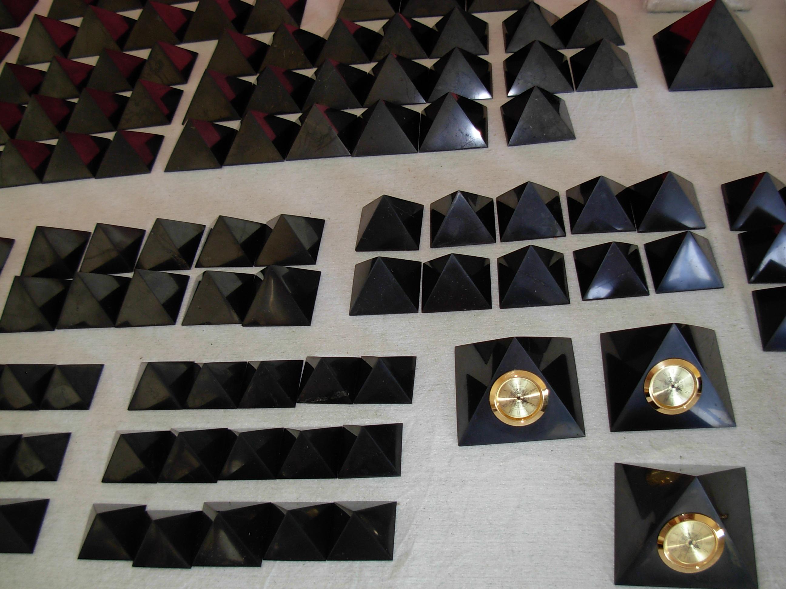 Шунгит - пирамиды, гармонизаторы, шары